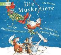 Cover-Bild zu Die Muskeltiere und das Weihnachtswunder