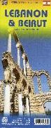 Cover-Bild zu Lebanon & Beirut. 1:190'000 / 1:8'300