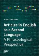 Cover-Bild zu Lesniewska, Justyna: Articles in English as a Second Language (eBook)