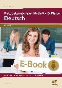 Cover-Bild zu Freiarbeitsmaterialien für die 9.+10. Kl.: Deutsch (eBook) von Koch, Günther