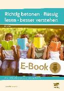 Cover-Bild zu Richtig betonen - flüssig lesen - besser verstehen (eBook) von Dahmer, Helmut Johann