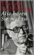 Cover-Bild zu Eschenburg, Theodor: Also hören Sie mal zu