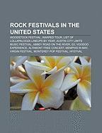 Cover-Bild zu Rock festivals in the United States