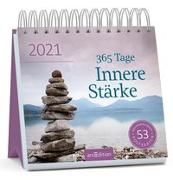 Cover-Bild zu Postkartenkalender 365 Tage Innere Stärke 2021
