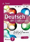 Cover-Bild zu Deutsch an Stationen 7 Gymnasium von Büttner, Patrick