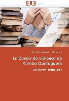 Cover-Bild zu Le Devoir de violence de Yambo Ouologuem von Habumukiza-A M. Z.