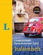 Cover-Bild zu Langenscheidt Sprachkalender 2020 Italienisch - Abreißkalender von Langenscheidt, Redaktion (Hrsg.)