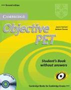Cover-Bild zu Student's Book without Answers - Objective PET. Second Edition