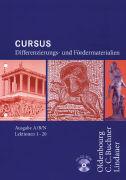 Cover-Bild zu Cursus. Ausgaben A/B/N. Differenzierungsmaterialien. Lektionen 1-20 von Auer, Franz