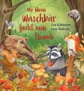 Cover-Bild zu Der kleine Waschbär findet neue Freunde - ein Bilderbuch für Kinder ab 2 Jahren von Käßmann, Lea