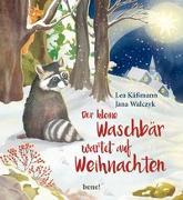 Cover-Bild zu Der kleine Waschbär wartet auf Weihnachten - ein Bilderbuch für Kinder ab 2 Jahren von Käßmann, Lea