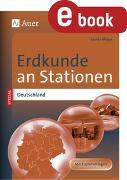 Cover-Bild zu Erdkunde an Stationen Spezial Deutschland (eBook) von Mayer, Saskia