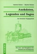 Cover-Bild zu Anekdoten, Legenden und Sagen von Richter, Manfred