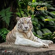 Cover-Bild zu Big Cats 2021 A&I INT 30x30