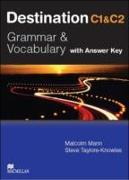 Cover-Bild zu Mann, Malcolm: C1 and C2: Destination C1&C2 Upper Intermediate Student Book +key - Destination - Grammar and Vocabulary