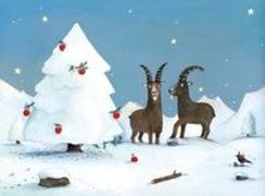 Cover-Bild zu Gian und Giachen Winterüberraschung Adventskalender