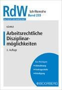 Cover-Bild zu Bährle, Ralph Jürgen: Arbeitsrechtliche Disziplinarmöglichkeiten