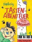 Cover-Bild zu Daxböck, Karin: 70 Tastenabenteuer mit dem kleinen Ungeheuer. Seventy Keybord Adventures with the little Monster. Heft 1