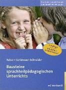 Cover-Bild zu Reber, Karin: Bausteine sprachheilpädagogischen Unterrichts