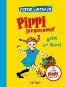 Cover-Bild zu Lindgren, Astrid: Pippi Langstrumpf geht an Bord