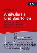 Cover-Bild zu Fromm, Martin: Analysieren und beurteilen