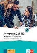 Cover-Bild zu Braun, Birgit: Kompass DaF B2. Medienpaket (4 Audio-CDs + 1 DVD)