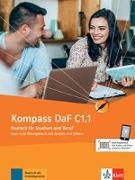 Cover-Bild zu Sander, Ilse: Kompass DaF C1.1. Kurs- und Übungsbuch Teil 1