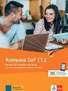 Cover-Bild zu Sander, Ilse: Kompass DaF C1.2. Kurs- und Übungsbuch mit Audios und Videos