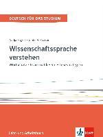 Cover-Bild zu Fügert, Nadja: Wissenschaftssprache verstehen