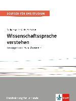 Cover-Bild zu Fügert, Nadja: Wissenschaftssprache verstehen. Lösungen und Praxishinweise. Handreichung für Lehrende