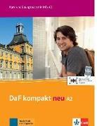 Cover-Bild zu Braun, Birgit: DaF kompakt neu A2. Kurs- und Übungsbuch + MP3-CD