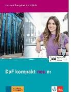 Cover-Bild zu Braun, Birgit: DaF kompakt neu B1. Kurs- und Übungsbuch + MP3-CD