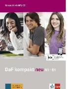 Cover-Bild zu Braun, Birgit: DaF kompakt neu A1-B1. Kursbuch + MP3-CD