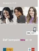 Cover-Bild zu Braun, Birgit: DaF kompakt neu A1-B1. Übungsbuch + MP3-CD