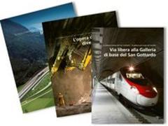 Cover-Bild zu La Galleria di base del San Gottardo - la galleria più lunga del mondo von AlpTransit Gotthard AG (Hrsg.)
