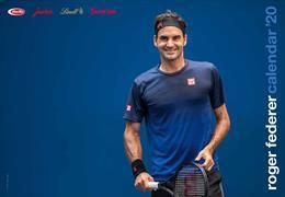Cover-Bild zu Roger Federer Kalender 2020