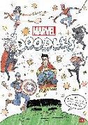 Cover-Bild zu MARVEL DOODLES - Superhelden-Kritzelspaß von Albrecht, Anke (Übers.)
