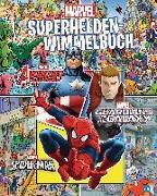 Cover-Bild zu MARVEL - Superhelden-Wimmelbuch von Albrecht, Anke (Übers.)