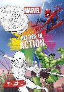 Cover-Bild zu Marvel Helden in Action von Sherwin, Jill