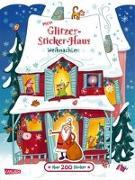 Cover-Bild zu Mein Glitzer-Sticker-Haus: Weihnachten von Leintz, Laura