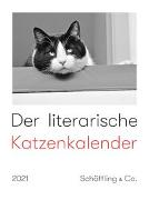 Cover-Bild zu Der literarische Katzenkalender 2021 von Bachstein, Julia (Hrsg.)