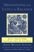 Cover-Bild zu Meditations for Living In Balance (eBook) von Schaef, Anne Wilson