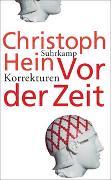 Cover-Bild zu Hein, Christoph: Vor der Zeit