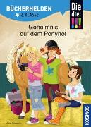 Cover-Bild zu Ambach, Jule: Die drei !!!, Bücherhelden 2. Klasse, Geheimnis auf dem Ponyhof