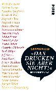 Cover-Bild zu Michaelsen, Sven: »Das drucken Sie aber nicht!«