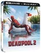 Cover-Bild zu David Leitch (Reg.): Deadpool 2 - 4K+2D Steelbook Edition