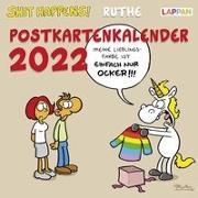 Cover-Bild zu Ruthe, Ralph: Shit happens! Postkartenkalender 2022