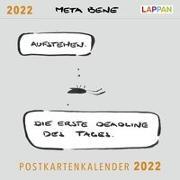 Cover-Bild zu Thiesmeyer, Robin: meta bene Postkartenkalender 2022
