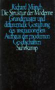 Cover-Bild zu Die Struktur der Moderne von Münch, Richard