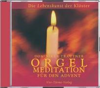 Cover-Bild zu Trautner, Dominikus: CD: Orgelmeditation für den Advent